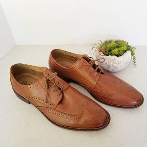 Florsheim Montinaro wingtip oxford leather shoes